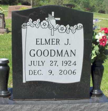 GOODMAN, ELMER J. - Texas County, Missouri | ELMER J. GOODMAN - Missouri Gravestone Photos