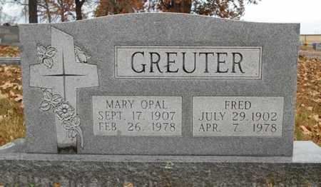 GREUTER, MARY OPAL - Texas County, Missouri | MARY OPAL GREUTER - Missouri Gravestone Photos