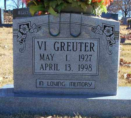 GREUTER, VIOLET - Texas County, Missouri | VIOLET GREUTER - Missouri Gravestone Photos