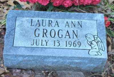 GROGAN, LAURA ANN - Texas County, Missouri | LAURA ANN GROGAN - Missouri Gravestone Photos
