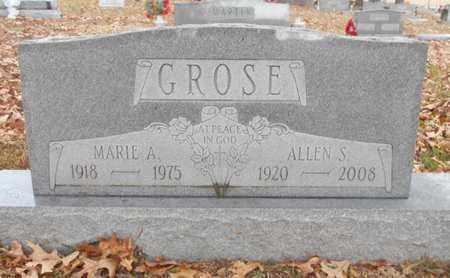 BRIGGS GROSE, MARIE A. - Texas County, Missouri | MARIE A. BRIGGS GROSE - Missouri Gravestone Photos