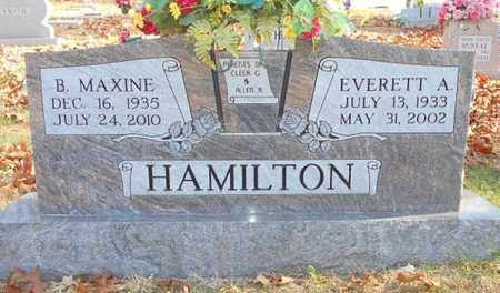 HAMILTON, BILLIE MAXINE - Texas County, Missouri | BILLIE MAXINE HAMILTON - Missouri Gravestone Photos