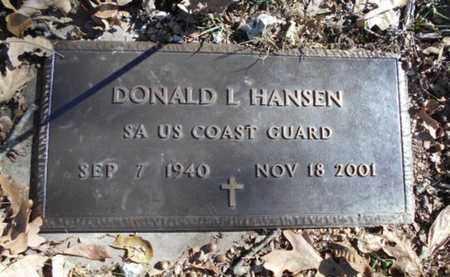 HANSEN, DONALD L.  VETERAN - Texas County, Missouri   DONALD L.  VETERAN HANSEN - Missouri Gravestone Photos