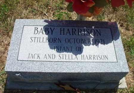 HARRISON, BABY - Texas County, Missouri | BABY HARRISON - Missouri Gravestone Photos