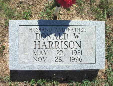 HARRISON, DONALD W. - Texas County, Missouri   DONALD W. HARRISON - Missouri Gravestone Photos