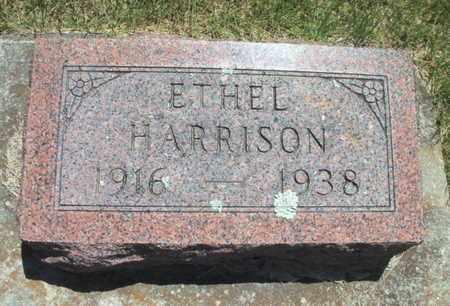 HARRISON, ETHEL - Texas County, Missouri | ETHEL HARRISON - Missouri Gravestone Photos