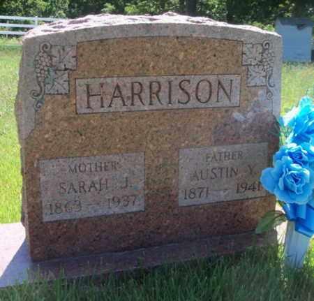 HARRISON, SARAH JANE - Texas County, Missouri | SARAH JANE HARRISON - Missouri Gravestone Photos