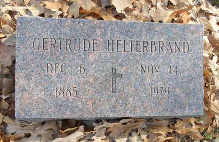 HELTERBRAND, GERTRUDE - Texas County, Missouri | GERTRUDE HELTERBRAND - Missouri Gravestone Photos