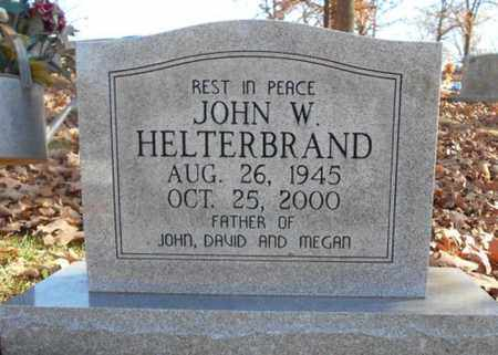 HELTERBRAND, JOHN W. - Texas County, Missouri   JOHN W. HELTERBRAND - Missouri Gravestone Photos