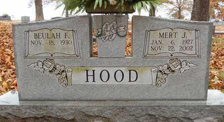 HOOD, MERT J. - Texas County, Missouri | MERT J. HOOD - Missouri Gravestone Photos