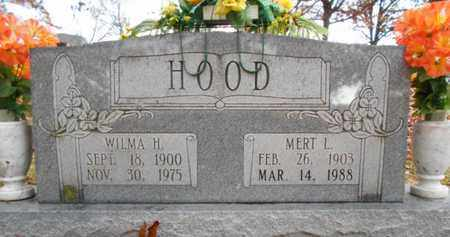 HOOD, MERT L. - Texas County, Missouri | MERT L. HOOD - Missouri Gravestone Photos