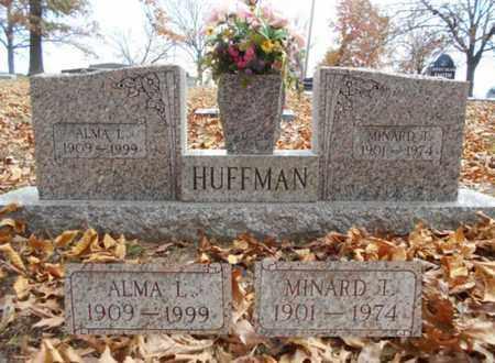 HUFFMAN, MINARD T. - Texas County, Missouri | MINARD T. HUFFMAN - Missouri Gravestone Photos