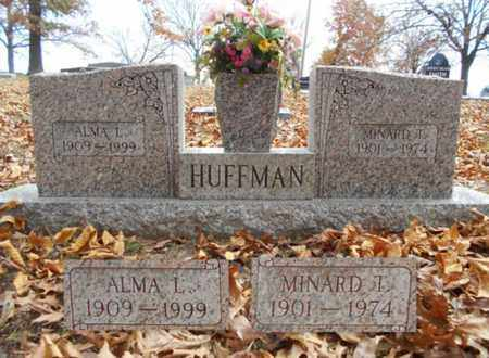 RAND HUFFMAN, ALMA L. - Texas County, Missouri | ALMA L. RAND HUFFMAN - Missouri Gravestone Photos