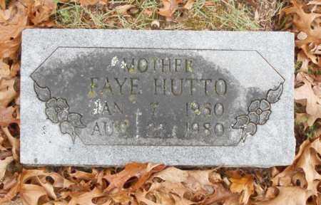 HUTTO, FAYE - Texas County, Missouri   FAYE HUTTO - Missouri Gravestone Photos