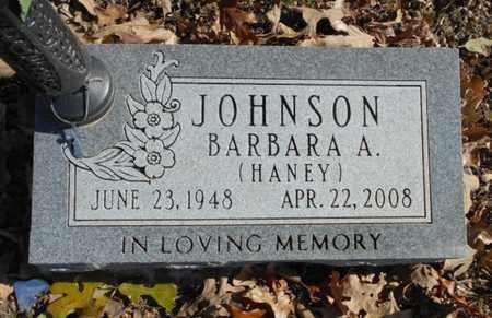 JOHNSON, BARBARA A. - Texas County, Missouri | BARBARA A. JOHNSON - Missouri Gravestone Photos