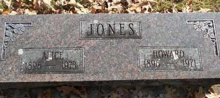 JONES, ALICE - Texas County, Missouri | ALICE JONES - Missouri Gravestone Photos