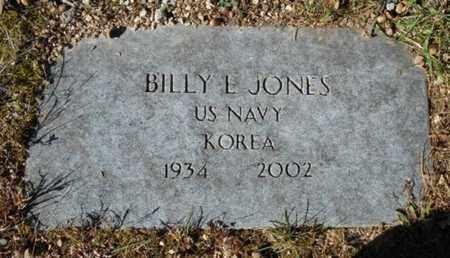 JONES, BILLY E.  VETERAN KOREA - Texas County, Missouri | BILLY E.  VETERAN KOREA JONES - Missouri Gravestone Photos
