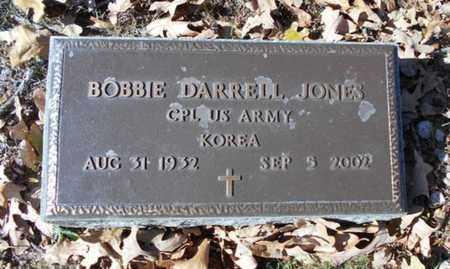JONES, BOBBIE DARRELL  VETERAN KOREA - Texas County, Missouri | BOBBIE DARRELL  VETERAN KOREA JONES - Missouri Gravestone Photos