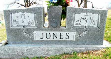 JONES, ELSIE A. - Texas County, Missouri | ELSIE A. JONES - Missouri Gravestone Photos