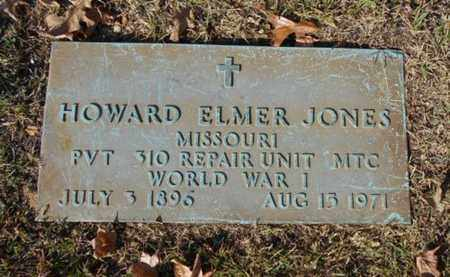 JONES, HOWARD ELMER VETERAN WWI - Texas County, Missouri | HOWARD ELMER VETERAN WWI JONES - Missouri Gravestone Photos
