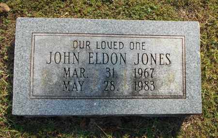 JONES, JOHN ELDON - Texas County, Missouri   JOHN ELDON JONES - Missouri Gravestone Photos