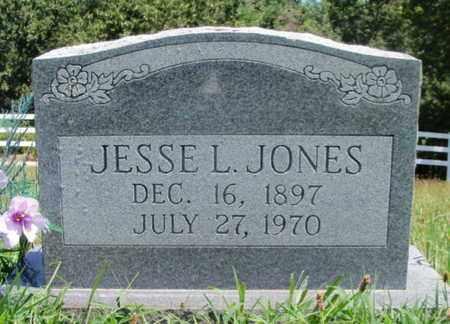JONES, JESSE L. - Texas County, Missouri   JESSE L. JONES - Missouri Gravestone Photos