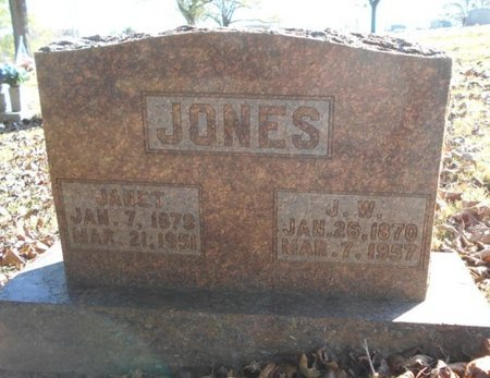 JONES, JANET - Texas County, Missouri | JANET JONES - Missouri Gravestone Photos