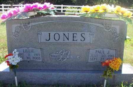 JONES, LILLIE - Texas County, Missouri | LILLIE JONES - Missouri Gravestone Photos