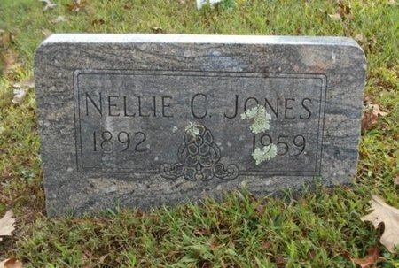 JONES, NELLIE C. - Texas County, Missouri | NELLIE C. JONES - Missouri Gravestone Photos