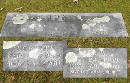 JONES, DON B. VETERAN WWII - Texas County, Missouri | DON B. VETERAN WWII JONES - Missouri Gravestone Photos