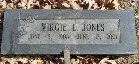 JONES, VIRGIE L. - Texas County, Missouri | VIRGIE L. JONES - Missouri Gravestone Photos