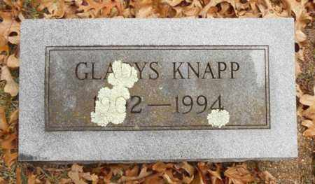 KNAPP, GLADYS OPAL - Texas County, Missouri | GLADYS OPAL KNAPP - Missouri Gravestone Photos