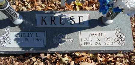 KRUSE, DAVID LEE - Texas County, Missouri   DAVID LEE KRUSE - Missouri Gravestone Photos