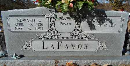 LAFAVOR, EDWARD ELMER - Texas County, Missouri | EDWARD ELMER LAFAVOR - Missouri Gravestone Photos