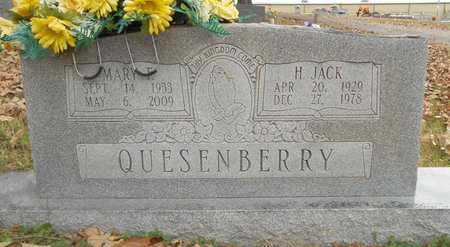 QUESENBERRY, HOYTT JACK - Texas County, Missouri | HOYTT JACK QUESENBERRY - Missouri Gravestone Photos