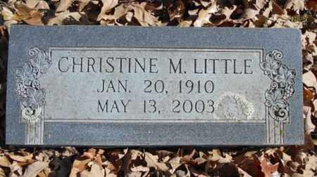 LITTLE, CHRISTINE M. - Texas County, Missouri | CHRISTINE M. LITTLE - Missouri Gravestone Photos