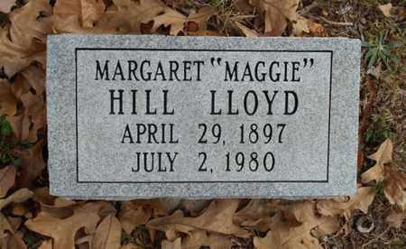 "HILL LLOYD, MARGARET ""MAGGIE"" - Texas County, Missouri | MARGARET ""MAGGIE"" HILL LLOYD - Missouri Gravestone Photos"