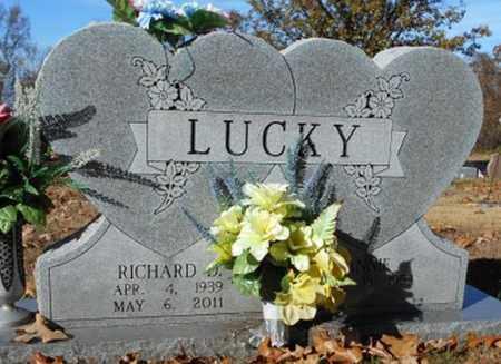 LUCKY, RICHARD D. - Texas County, Missouri | RICHARD D. LUCKY - Missouri Gravestone Photos