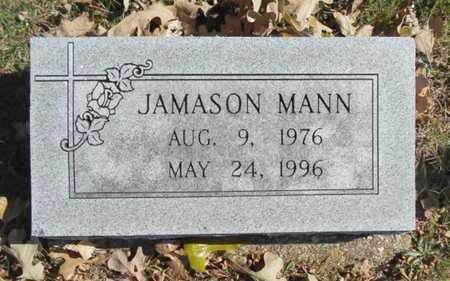 MANN, JAMASON - Texas County, Missouri | JAMASON MANN - Missouri Gravestone Photos
