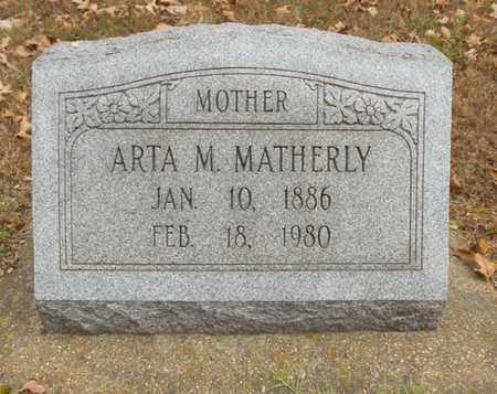MATHERLY, ARTA MAE - Texas County, Missouri | ARTA MAE MATHERLY - Missouri Gravestone Photos