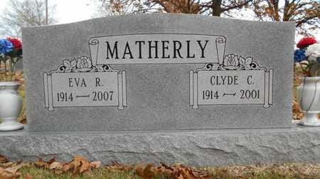 MATHERLY, EVA R. - Texas County, Missouri   EVA R. MATHERLY - Missouri Gravestone Photos