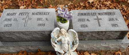MATHERLY, JIMMIE LEE - Texas County, Missouri | JIMMIE LEE MATHERLY - Missouri Gravestone Photos