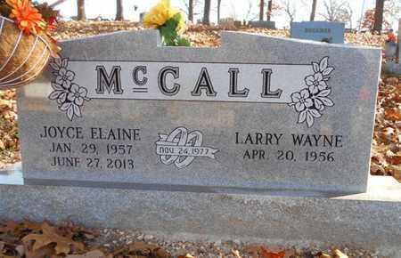 PARKER MCCALL, JOYCE ELAINE - Texas County, Missouri   JOYCE ELAINE PARKER MCCALL - Missouri Gravestone Photos