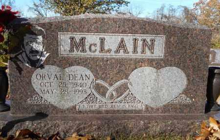 MCLAIN, ORVAL DEAN - Texas County, Missouri | ORVAL DEAN MCLAIN - Missouri Gravestone Photos