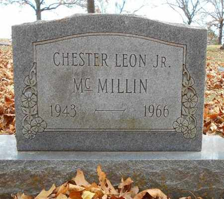 MCMILLIN, CHESTER LEON JR - Texas County, Missouri | CHESTER LEON JR MCMILLIN - Missouri Gravestone Photos