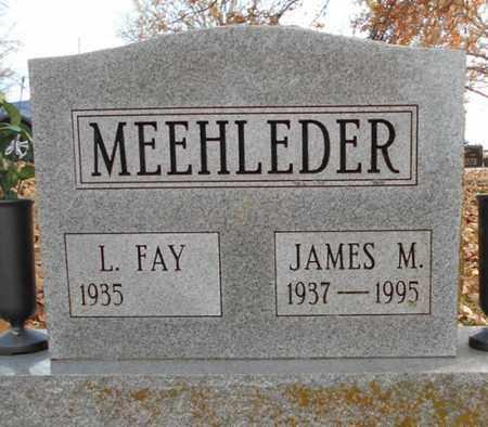 MEEHLEDER, JAMES M. - Texas County, Missouri | JAMES M. MEEHLEDER - Missouri Gravestone Photos