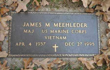 MEEHLEDER, JAMES M.  VETERAN VIETNAM - Texas County, Missouri | JAMES M.  VETERAN VIETNAM MEEHLEDER - Missouri Gravestone Photos