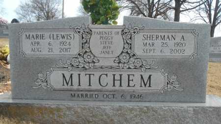 MITCHEM, SHERMAN A. - Texas County, Missouri | SHERMAN A. MITCHEM - Missouri Gravestone Photos