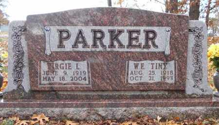 PARKER, VIRGIE LORENE - Texas County, Missouri | VIRGIE LORENE PARKER - Missouri Gravestone Photos