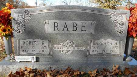 RABE, ROBERT K. - Texas County, Missouri | ROBERT K. RABE - Missouri Gravestone Photos